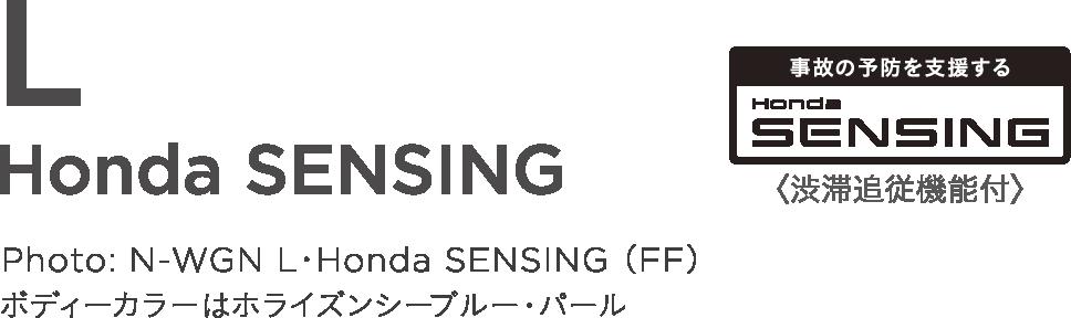 L Honda SENSING
